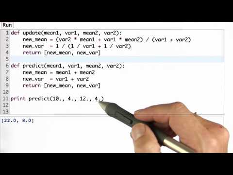 Predict Function Solution - Artificial Intelligence for Robotics thumbnail