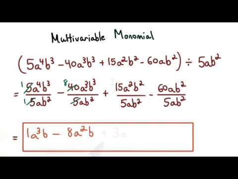 Multivariable Monomials thumbnail