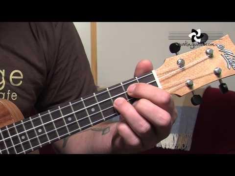 Ukulele Lesson 2 - Uke Open Chords: C Cmin C7 F Fmin F7 G Gmin G7  (UK-002) thumbnail