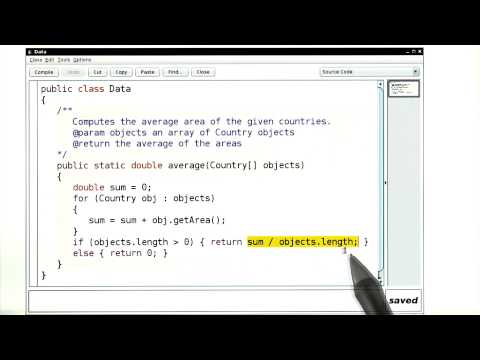 Using Interfaces for Algorithm Reuse Average Area - Intro to Java Programming thumbnail