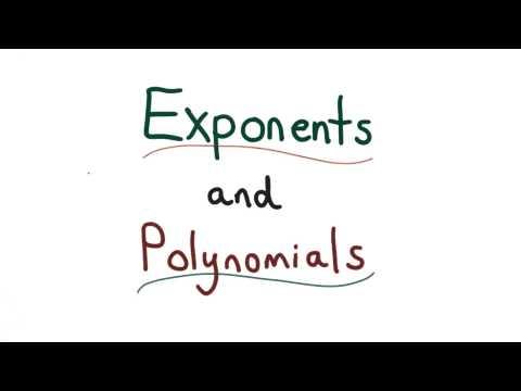 Exponents and Polynomials - Visualizing Algebra thumbnail