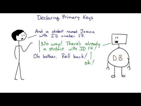 Declaring Primary Keys - Intro to Relational Databases thumbnail