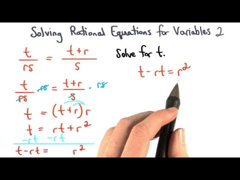Solving Equations for Variables Check 2 thumbnail