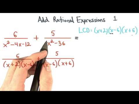 Add Rational Expressions Equivalent Fractions  1 - Visualizing Algebra thumbnail