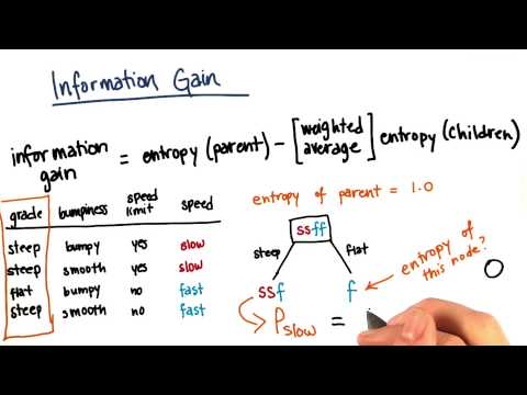 Information Gain Calculation Part 3 - Intro to Machine Learning thumbnail