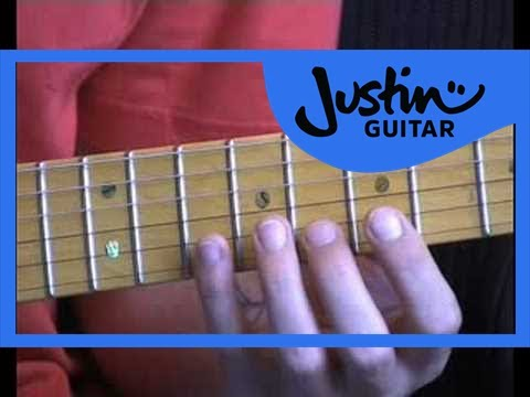 Blues Lead Guitar: Minor Penatonic Pos 2 #6of20 (Guitar Lesson BL-016) How to play thumbnail