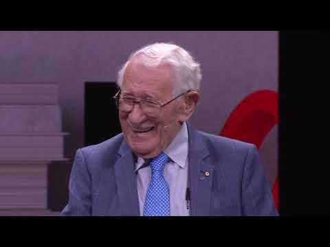 The happiest man on earth: 99 year old Holocaust survivor shares his story | Eddie Jaku | TEDxSydney thumbnail
