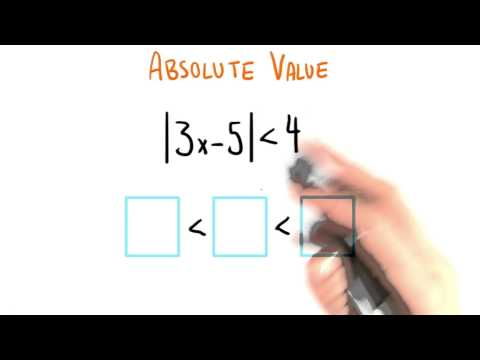 Absolute Value to Inequality - College Algebra thumbnail
