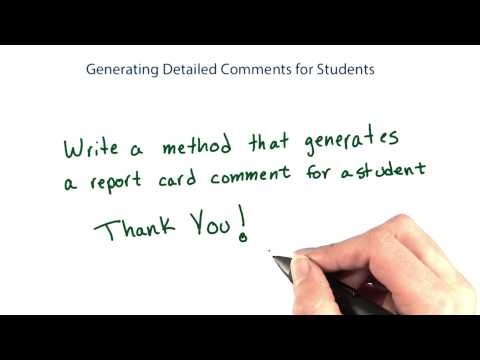 18-17 generating detailed comments thumbnail