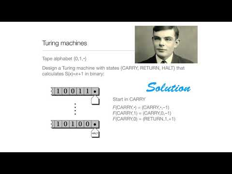 Computation in Complex Systems: Computation Everywhere : Turing Machines Solution thumbnail