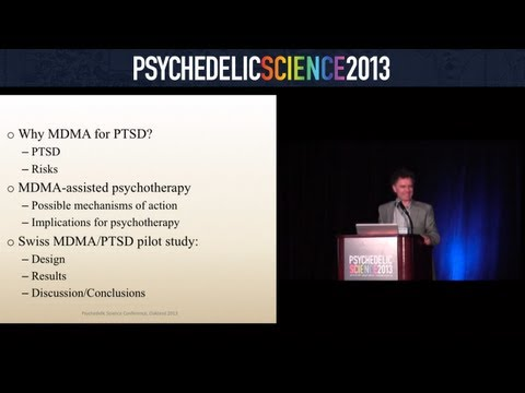 MDMA-Assisted Psychotherapy for PTSD: Results from the Swiss Pilot Study - Peter Oehen thumbnail