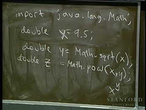 Lecture 7 | Programming Methodology (Stanford) thumbnail