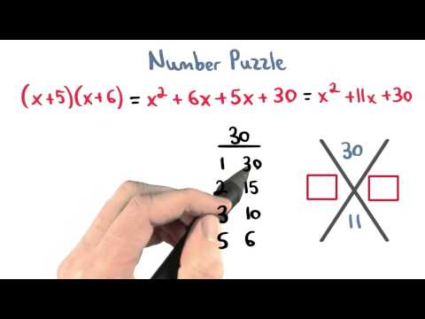 Factor Puzzle - Visualizing Algebra thumbnail