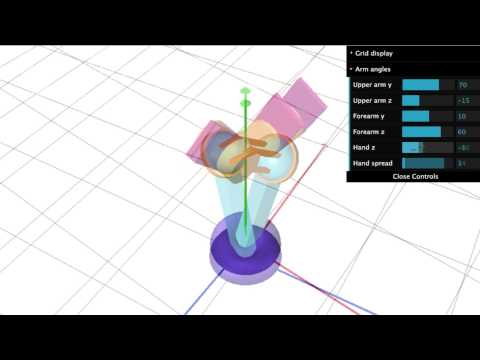 Robot Hand - Interactive 3D Graphics thumbnail