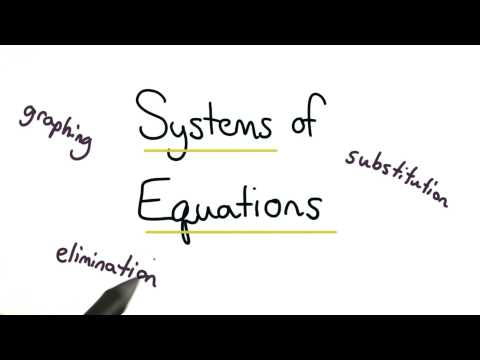 Solving Systems of Equations - Visualizing Algebra thumbnail
