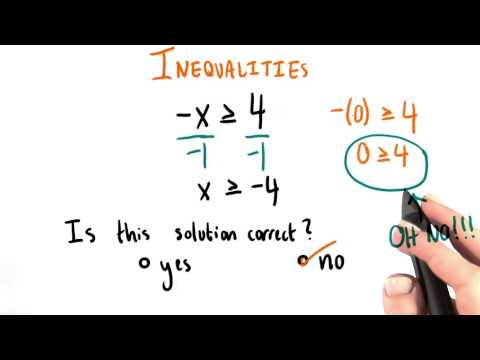 Dividing by Negatives - College Algebra thumbnail