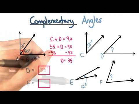 Complementary Angles - Visualizing Algebra thumbnail