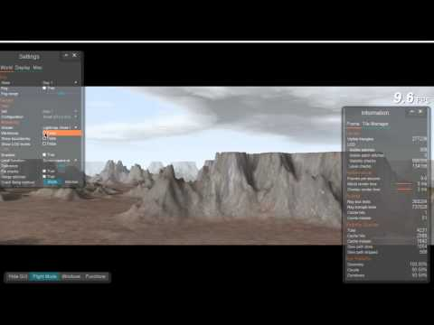 Terrain LOD System - Interactive 3D Graphics thumbnail