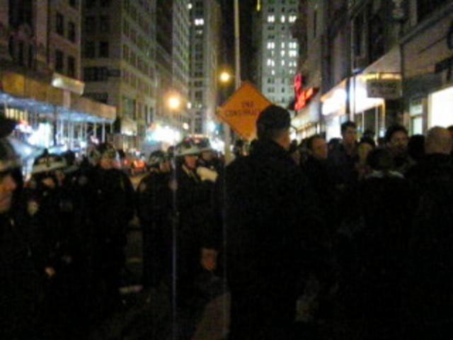 Reporter for The Local East Village (NYT) Is Arrested During Occupy Wall Street Clearing thumbnail