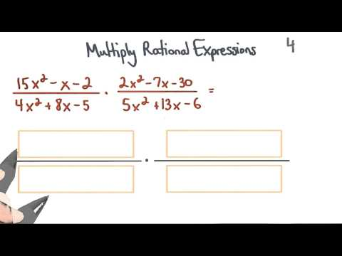 Multiply Rational Expressions 4 Factor - Visualizing Algebra thumbnail