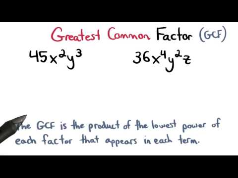 Greatest Common Factor with Variables - Visualizing Algebra thumbnail