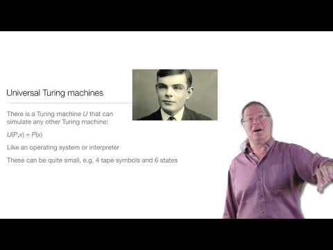 Computation in Complex Systems: Computation Everywhere : Universal Turing Machines thumbnail