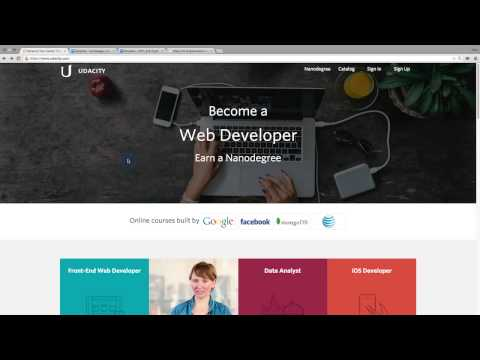 Homepage Design  UXUI Design  Product Design  Udacity thumbnail