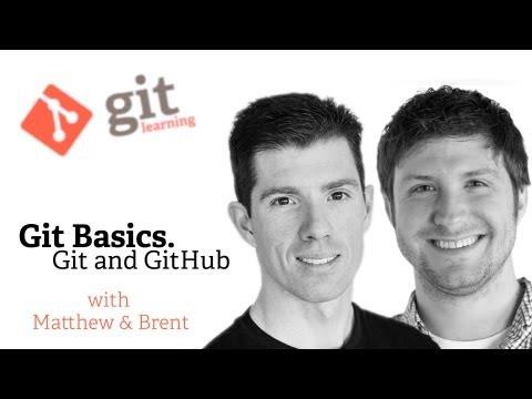 Webcast • The Basics of Git and GitHub thumbnail