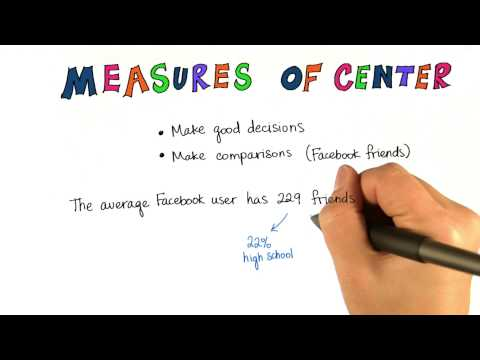 Use Measures of Center to Compare - Intro to Descriptive Statistics thumbnail