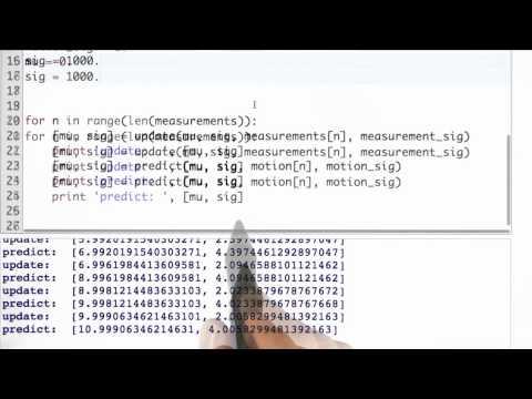 04-37 Kalman Filter Code Solution thumbnail