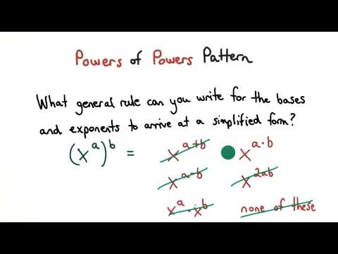 Powers of Powers Pattern - Visualizing Algebra thumbnail