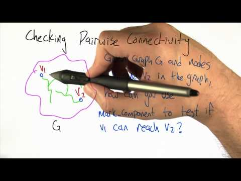 Checking Pairwise Connectivity - Intro to Algorithms thumbnail