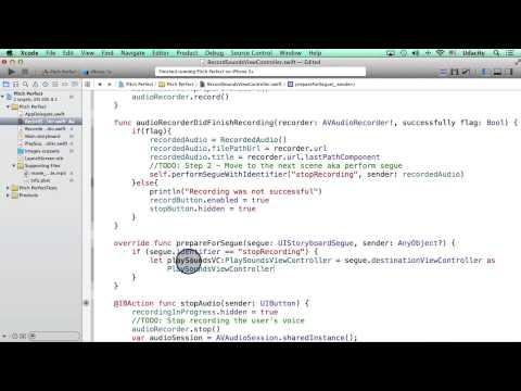 Passing the Model using prepareForSegue - Intro to iOS App Development with Swift thumbnail