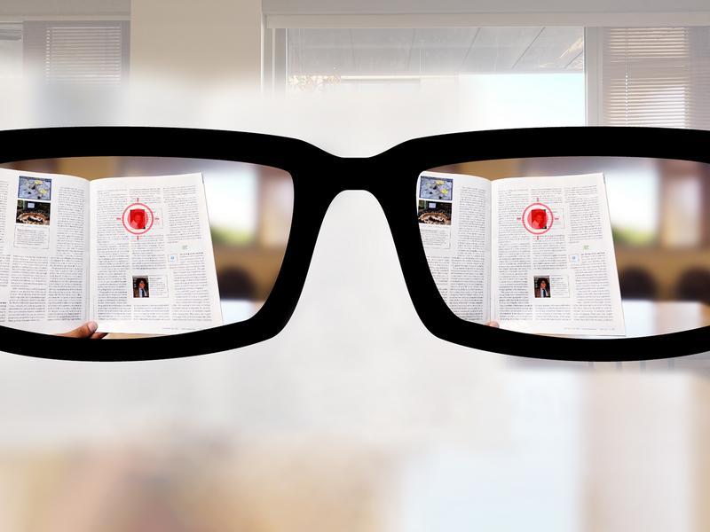 Autofocusing reading glasses of the future thumbnail