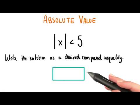 Absolute Value - College Algebra thumbnail