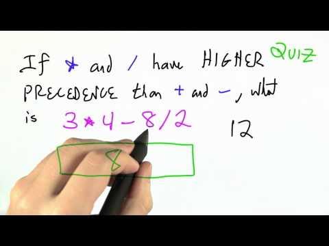 04-56 Higher Precedence Solution thumbnail