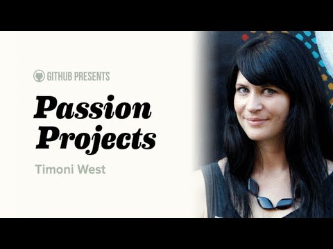 GitHub Presents • Passion Projects (Live) #3 • Timoni West (UX and User Data) thumbnail