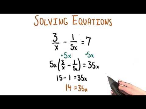 Multiplying Both Sides - College Algebra thumbnail