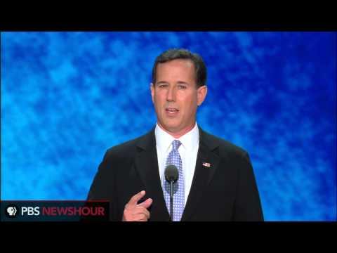 """Former Sen. Rick Santorum: """"I Shook the Hand of the American Dream"""" thumbnail"""