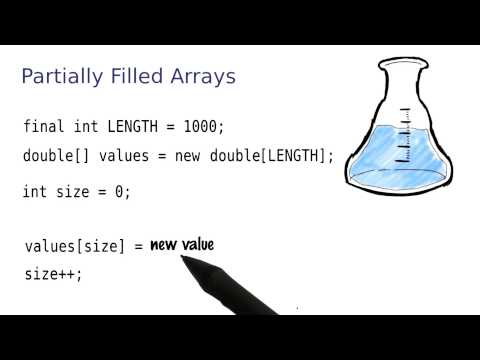 Partially Filled Arrays - Intro to Java Programming thumbnail