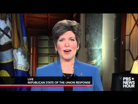 Watch Joni Ernst deliver the  Republican response to the 2015 State of the Union address thumbnail