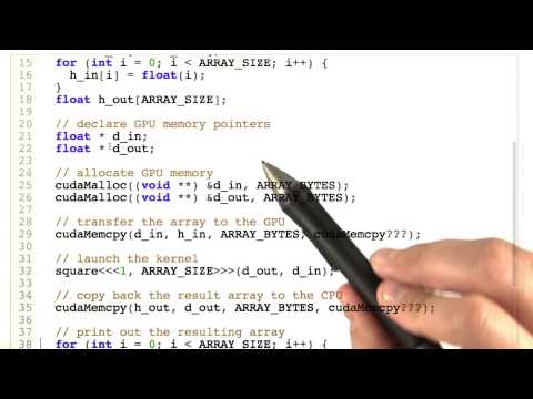 01-33 Squaring Number Using CUDA Part 2 thumbnail