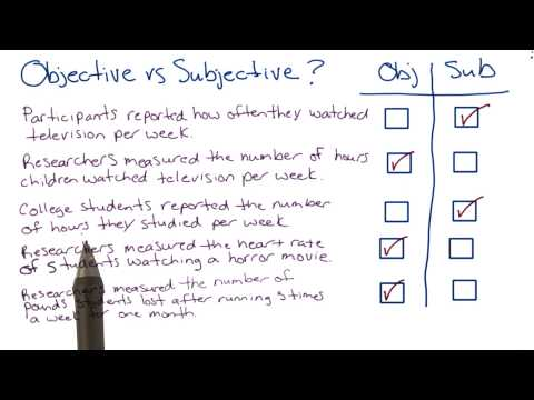 Objective vs subjective measures thumbnail