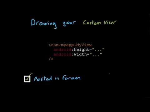Draw Your Own View - Developing Android Apps thumbnail