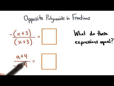 Opposite Polynomials in Fractions - Visualizing Algebra thumbnail