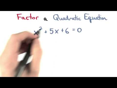 A Quadratic Equation - Visualizing Algebra thumbnail
