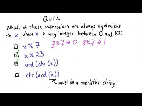 Equivalent Expressions Solution - Intro to Computer Science thumbnail