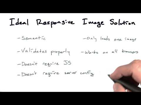 Ideal image solution - Mobile Web Development thumbnail