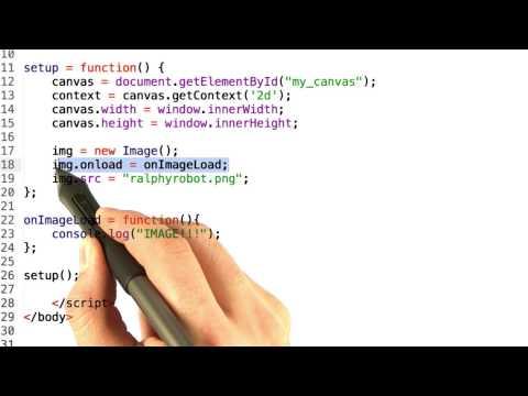 Loading images - HTML5 Game Development thumbnail