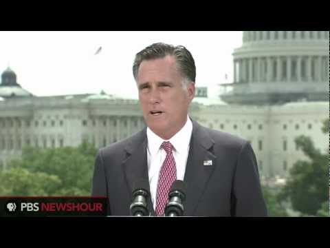 """Watch Full Romney Response to Health Care Ruling: """"I Will Act to Repeal Obamacare"""" thumbnail"""